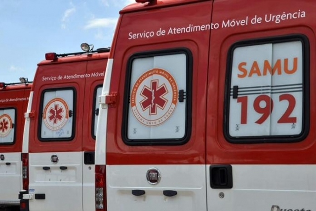Estado entrega 8 novas ambulâncias do Samu